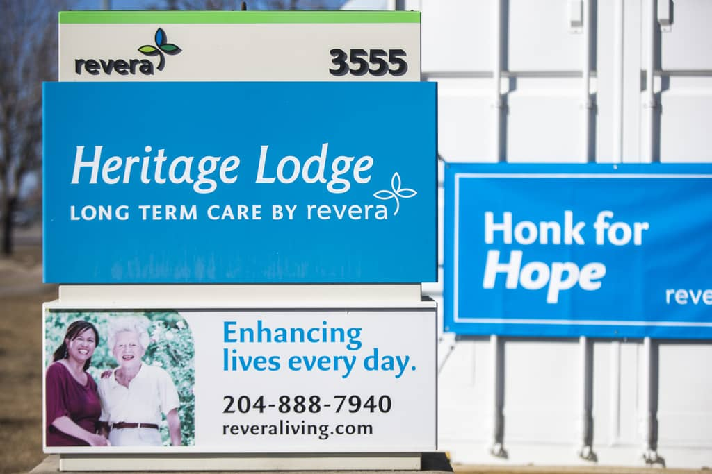 Revera — the Ontario-based owner of Heritage Lodge — announced a resident had tested positive for the highly contagious B.1.1.7 coronavirus variant.