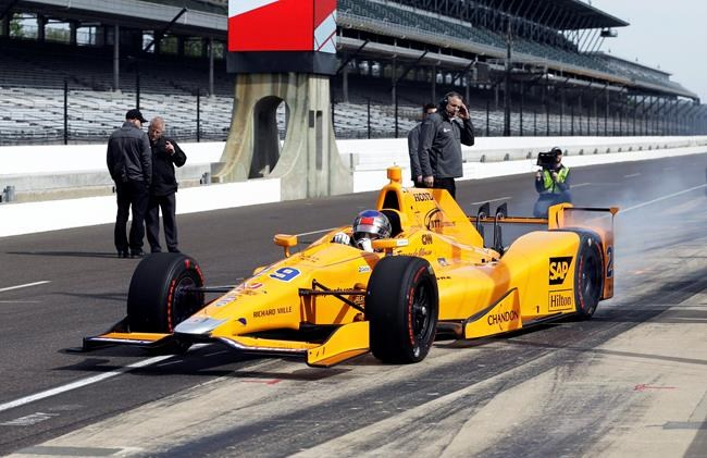 Fernando Alonso enjoy 'perfect' Indy auto debut at Indianapolis 500 test