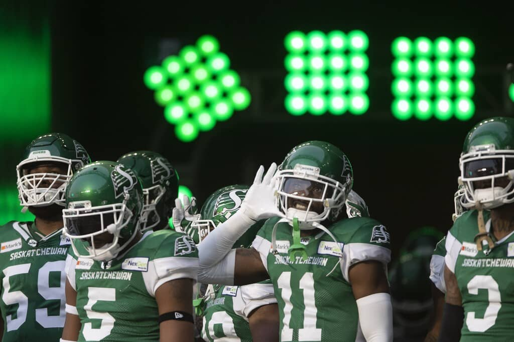 The Saskatchewan Roughriders and the Winnipeg Blue Bombers are the only teams in the CFL's west division that are undefeated this season.