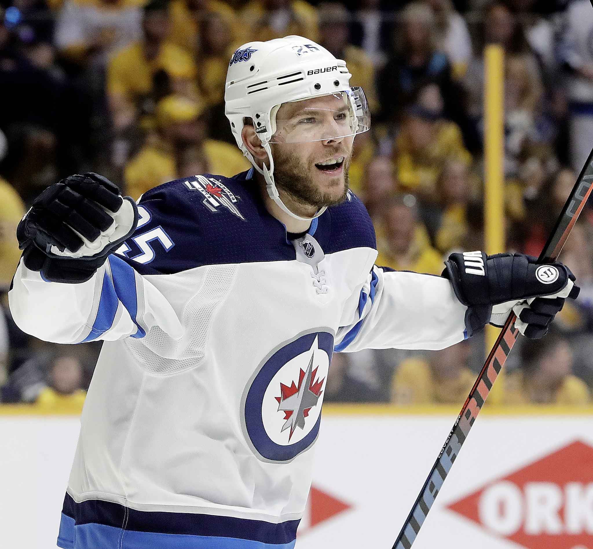 The Winnipeg Jets acquired centre Paul Stastny from the St. Louis Blues near the NHL trade deadline to help fuel their deep playoff run last season.