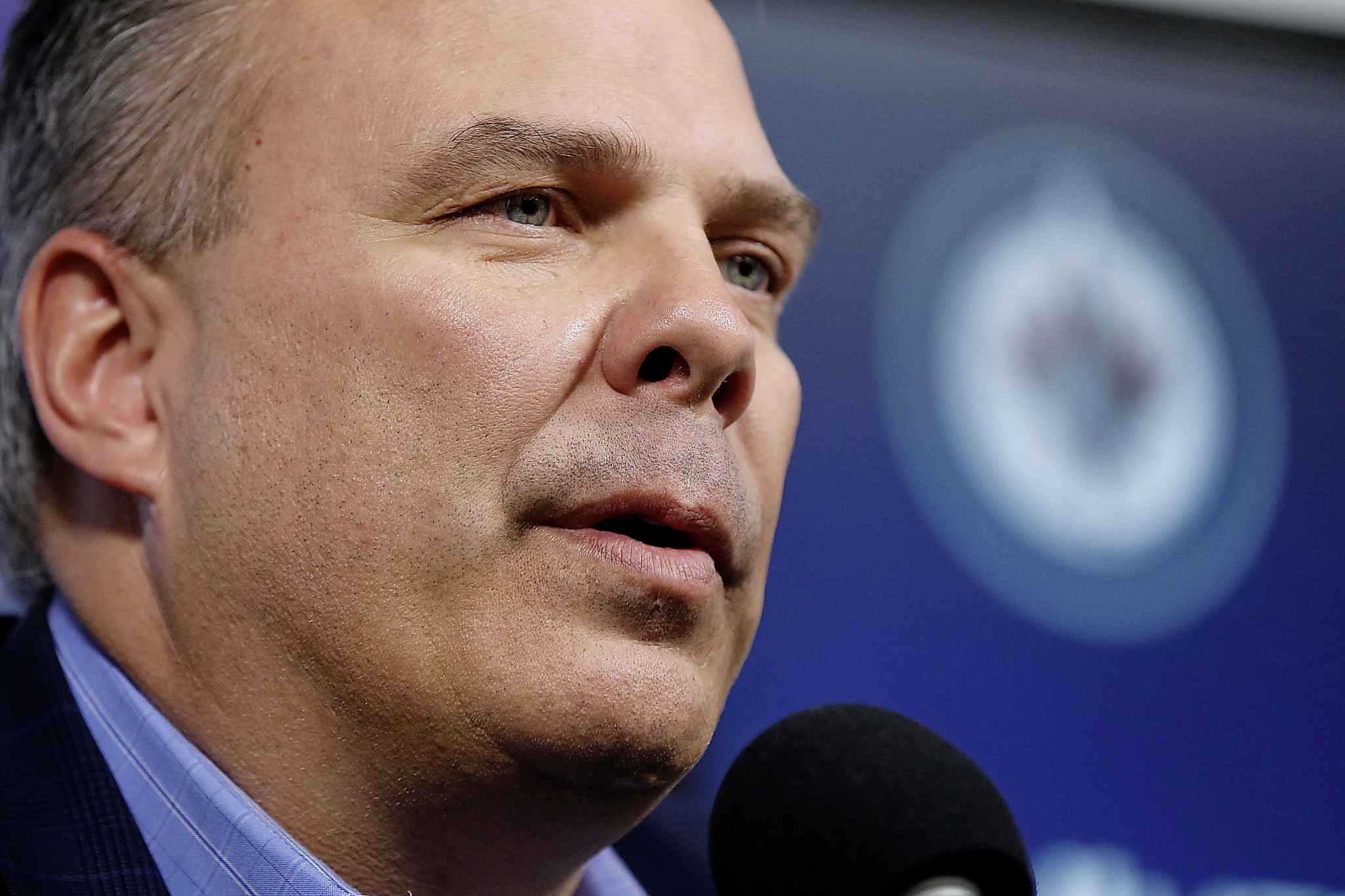Winnipeg Jets Executive Vice President & General Manager Kevin Cheveldayoff.