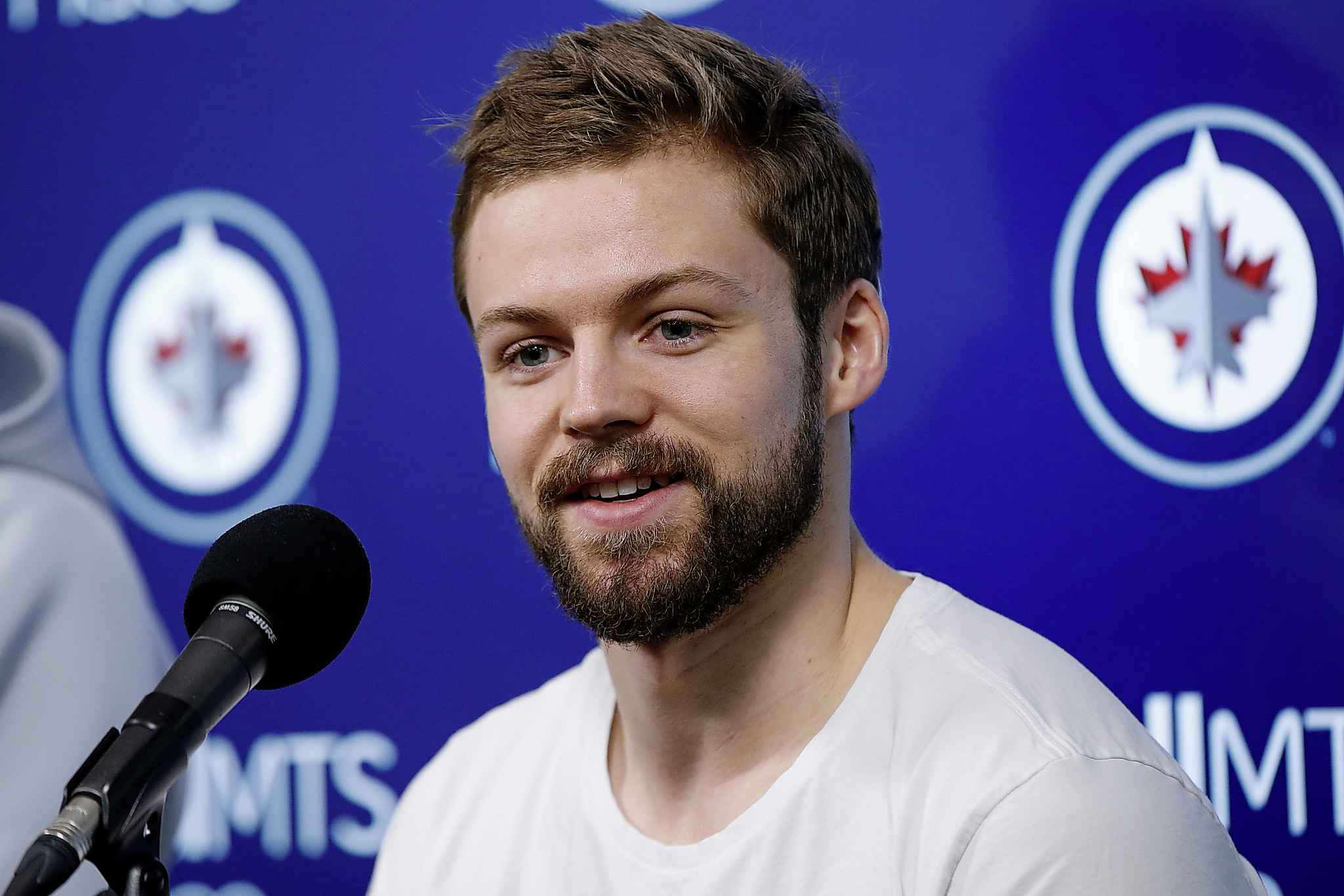 Winnipeg Jets' Josh Morrissey could be a bridge between the younger Jets' players and the veterans.