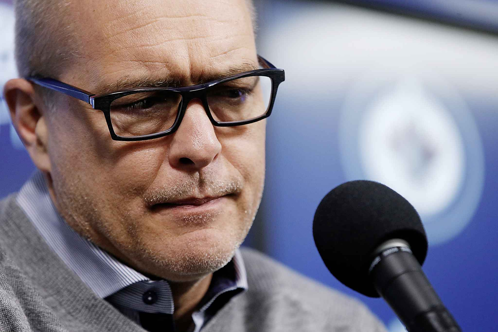"Winnipeg Jets head coach Paul Maurice characterized his team as having ""a few ruffled feathers in there."""
