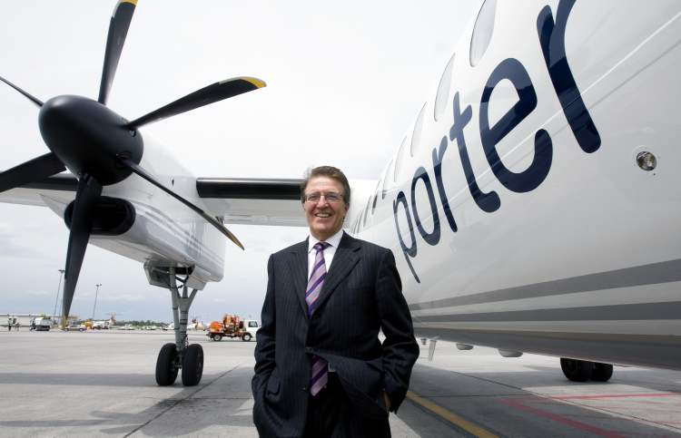 Robert Deluce, president of Porter Airlines, says he expects to have all approvals needed for the airline's expansion within six months.