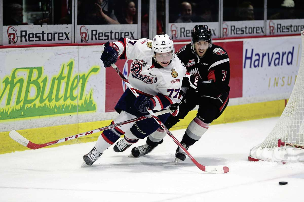 Regina Pats centreman Adam Brooks, who grew up in Riverbend, led the WHL in scoring this season with 120 points.