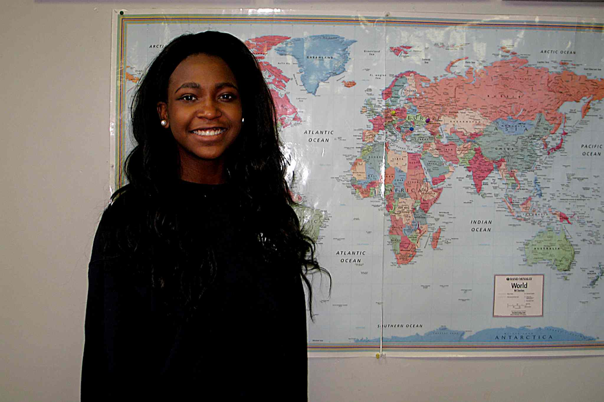 Faith Academy student Abigail Theano-Pudwill recently travelled to Ottawa for the Forum of Young Canadians and the National Student Commonwealth Forum.