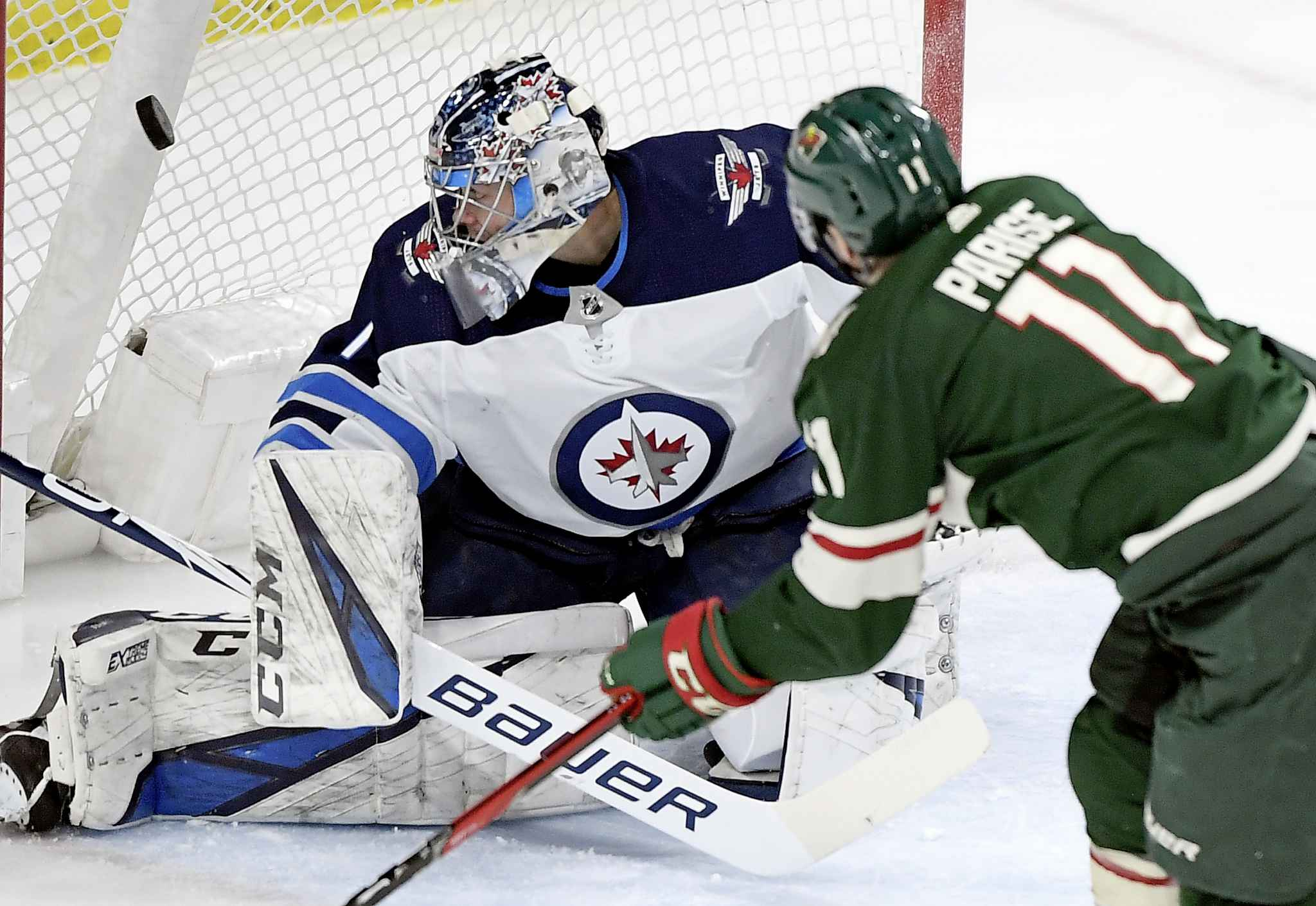 """HANNAH FOSLIEN / THE ASSOCIATED PRESS</p><p>""""I've had tough games before in the American League, I've had tough games before in the NHL, so I know how to deal with it. It's another game you add to your experience,"""" said Comrie.</p>"""