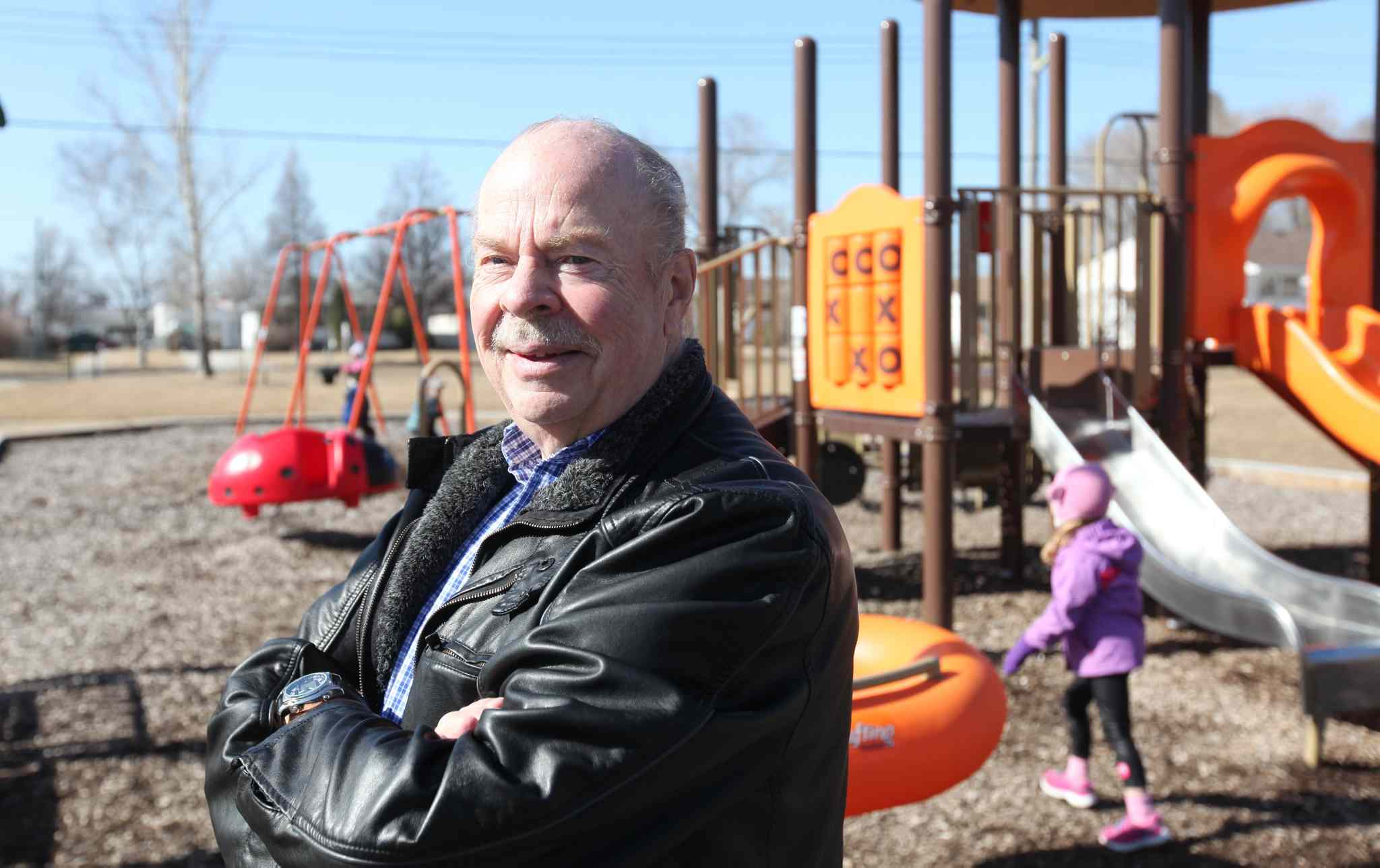 Keith Thomas, who is about to retire as risk manager of the Manitoba School Boards Association, was partly responsible for implementing safety measures on buses and playgrounds to keep kids safe.