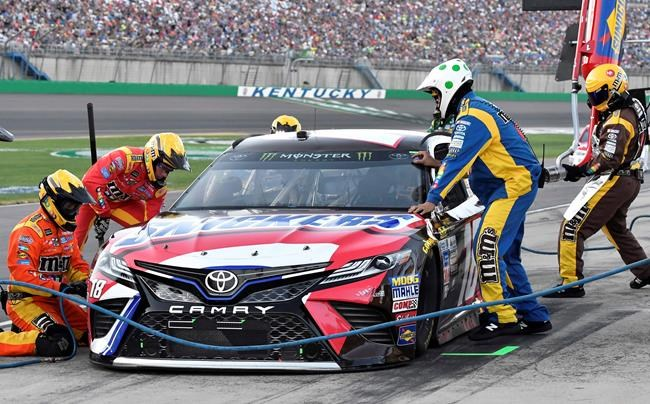 Kyle Busch repeats as Xfinity Series winner at Kentucky