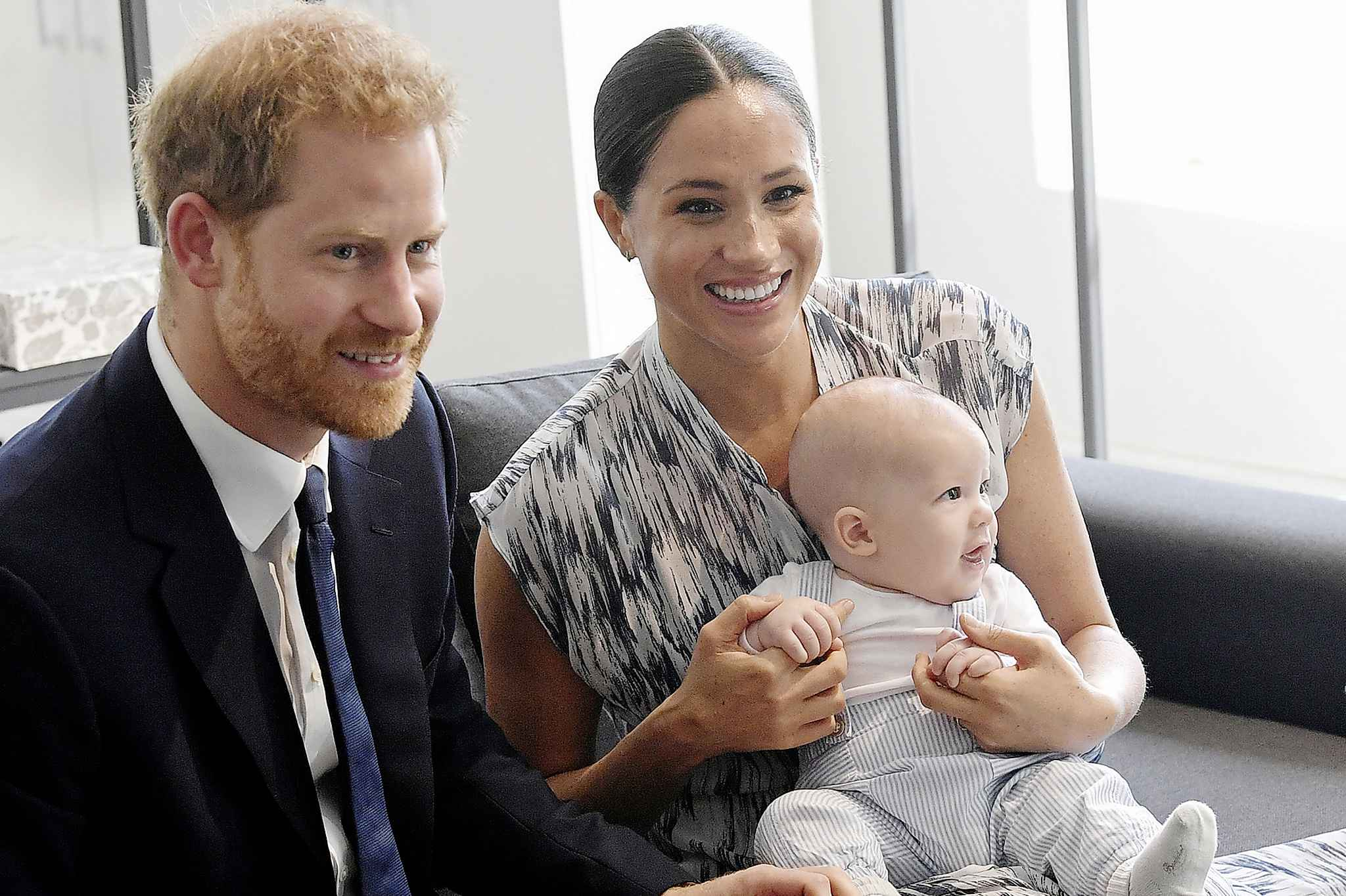 Prince Harry, Duke of Sussex, Meghan, Duchess of Sussex and their baby son Archie Mountbatten-Windsor are striking out on their own. (Toby Melville/Getty Images/TNS)
