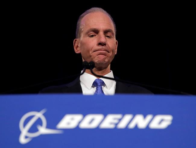 CEO: Boeing made mistake in handling warning-system problem