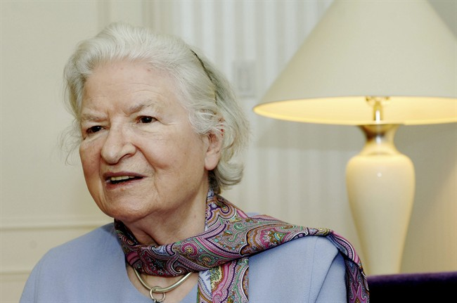 FILE - This is a Nov. 27, 2005 file photo of author P.D. James as she discusses her latest novel,