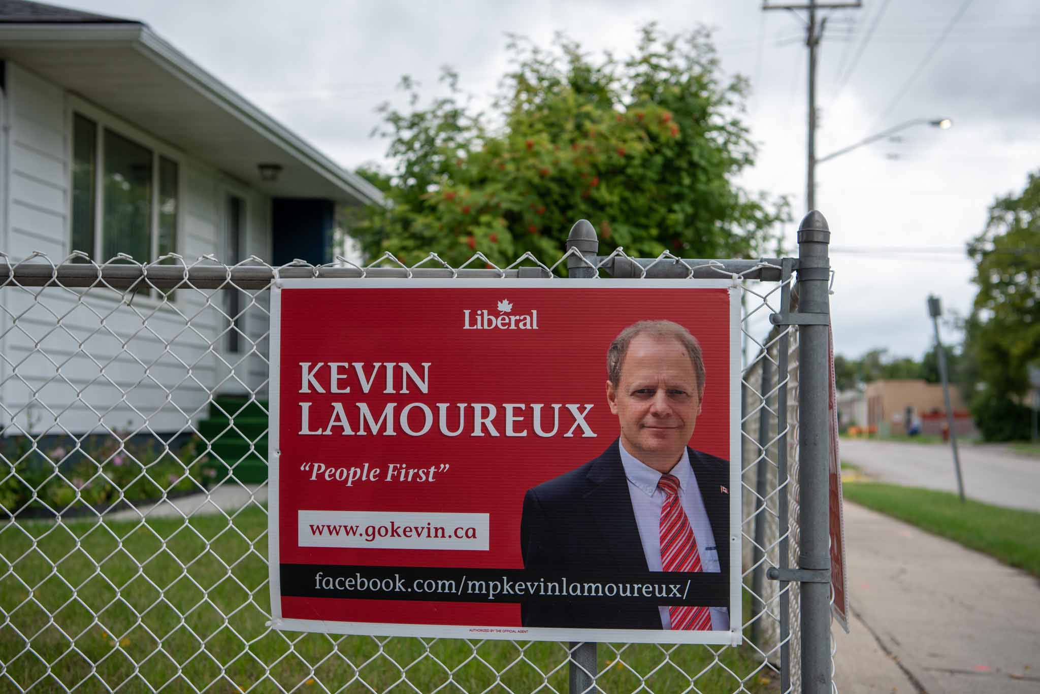 Liberal MP Kevin Lamoureux has held the seat since 2010.