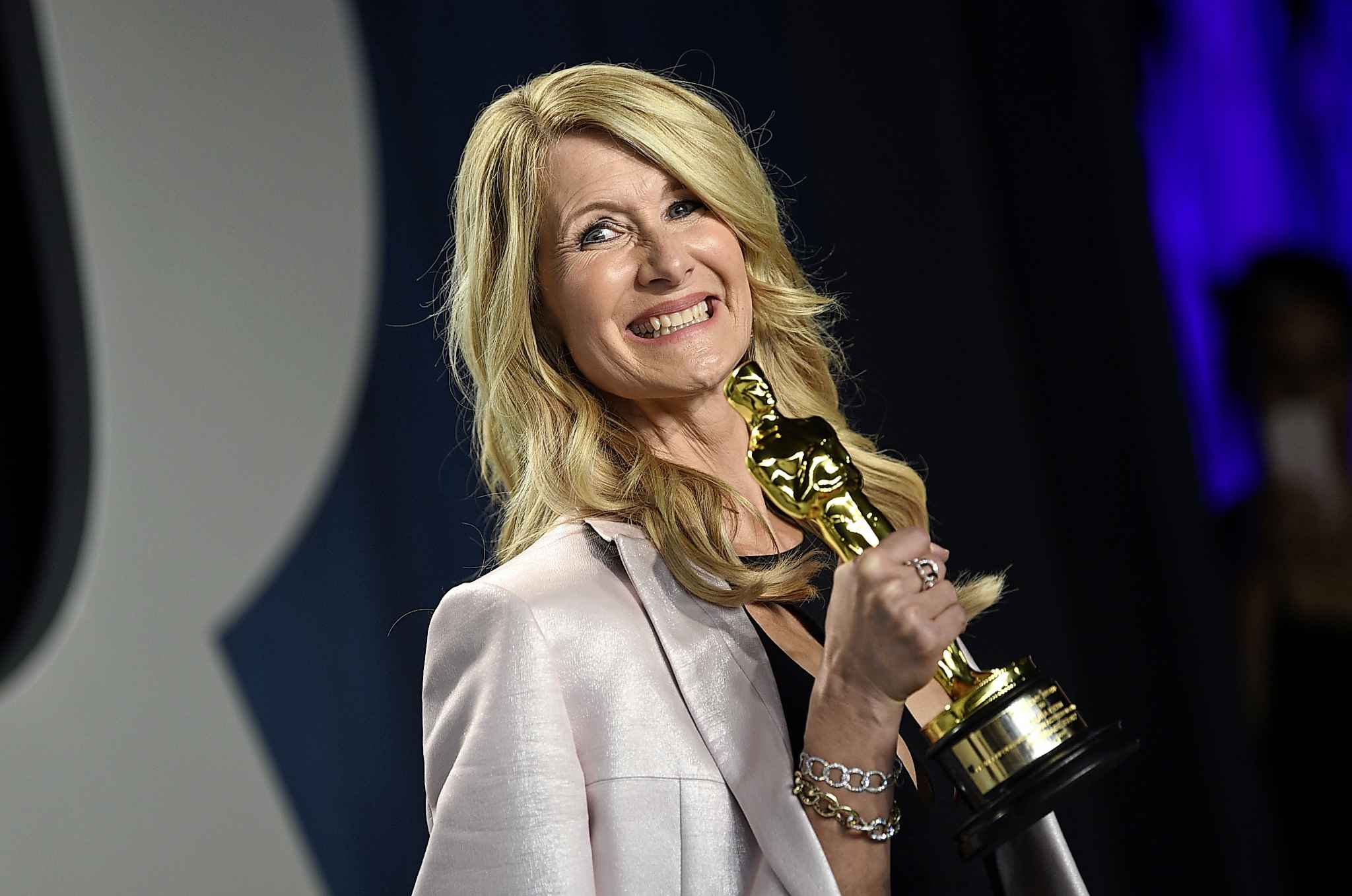 With two previous nominations, Laura Dern's Oscar win was one of the night's feel-good moments. (Evan Agostini / Invision)