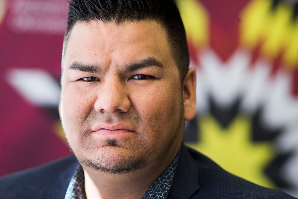 'To minimize, romanticize and celebrate the settler colonialism that displaced First Nations from their ancient and sacred lands in the most brutal and heinous ways... is unconscionable,' says York Factory Chief Leroy Constant. (Mikaela MacKenzie / Winnipeg Free Press files)