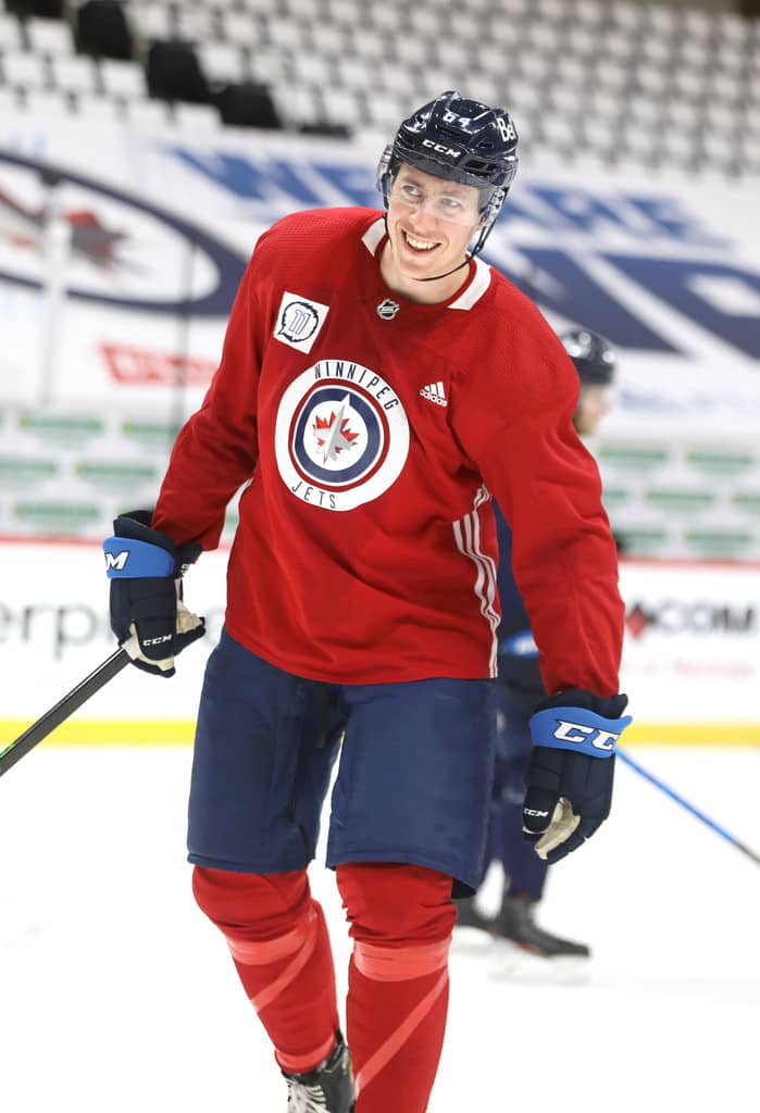 The Jets received lots of calls ahead of the expansion draft regarding defenceman Logan Stanley. (Ruth Bonneville / Winnipeg Free Press files)