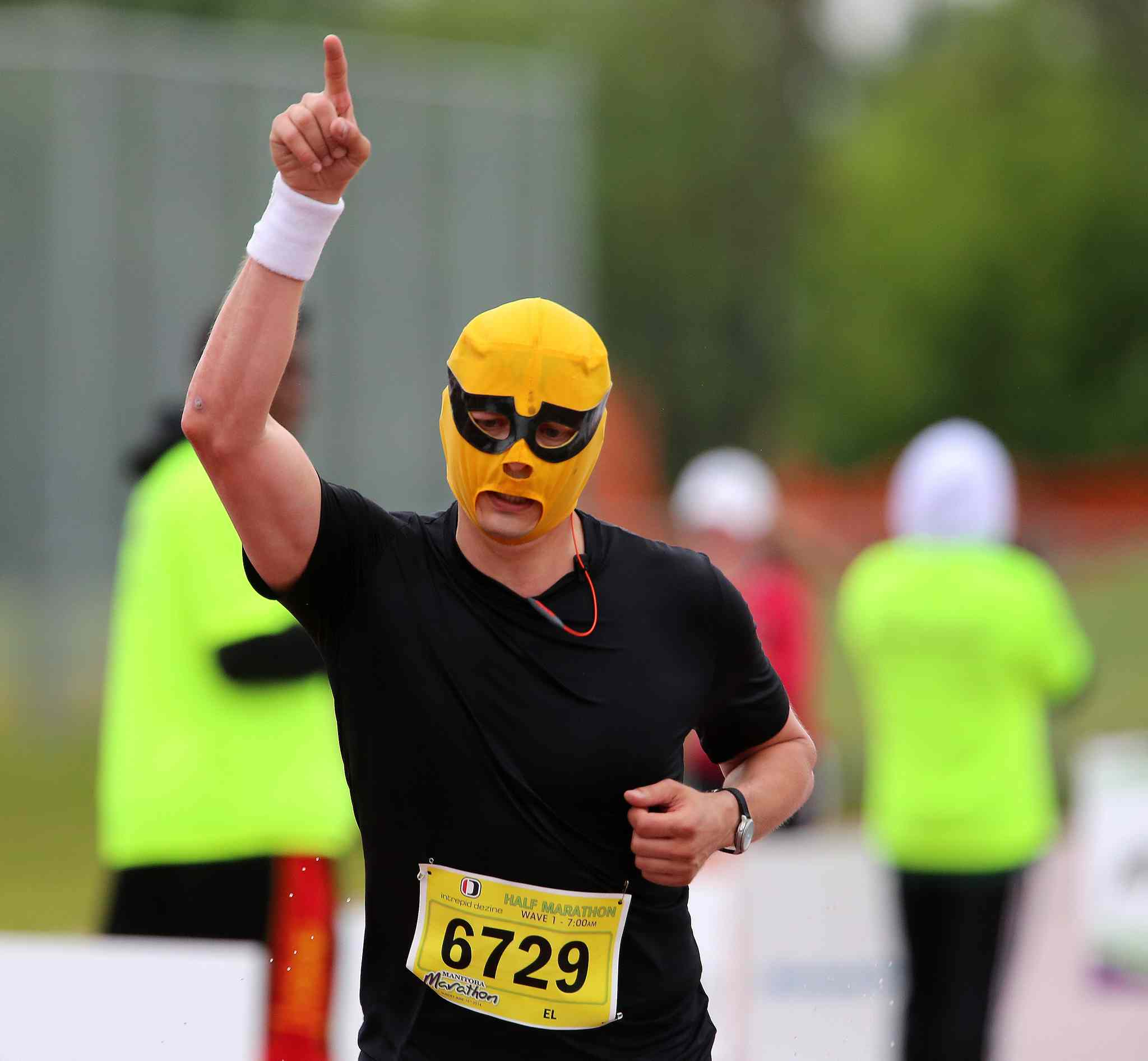 El Scorcho is always a participant at the Manitoba Marathon.