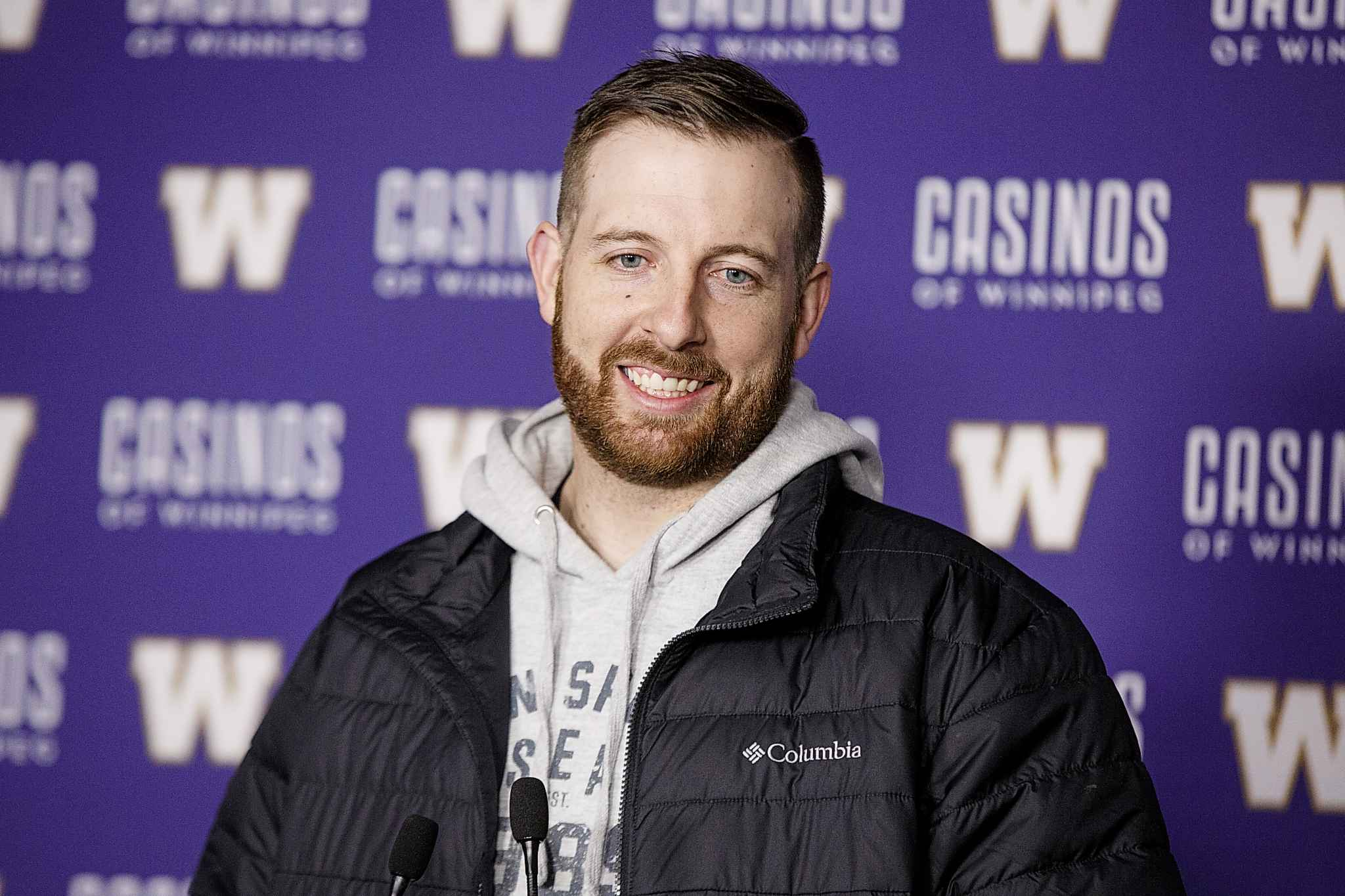 Winnipeg Blue Bombers quarterback Matt Nichols met with the media for the first time since the end of the 2018 season at Investors Group Field Thursday.