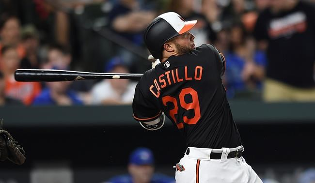 Welington Castillo clubs walkoff homer for Orioles Friday