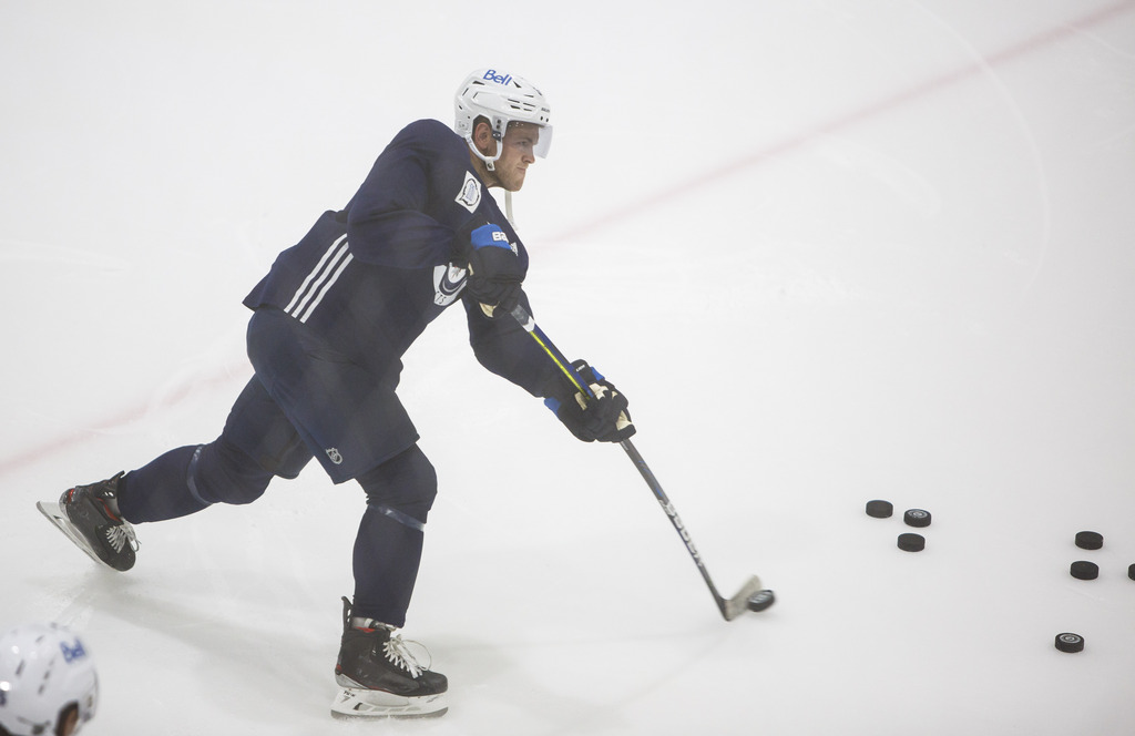 Winnipeg Jets' Andrew Copp was on the NHLPA bargaining committee that developed the league's return-to-play protocols. (Mike Deal / Winnipeg Free Press files)