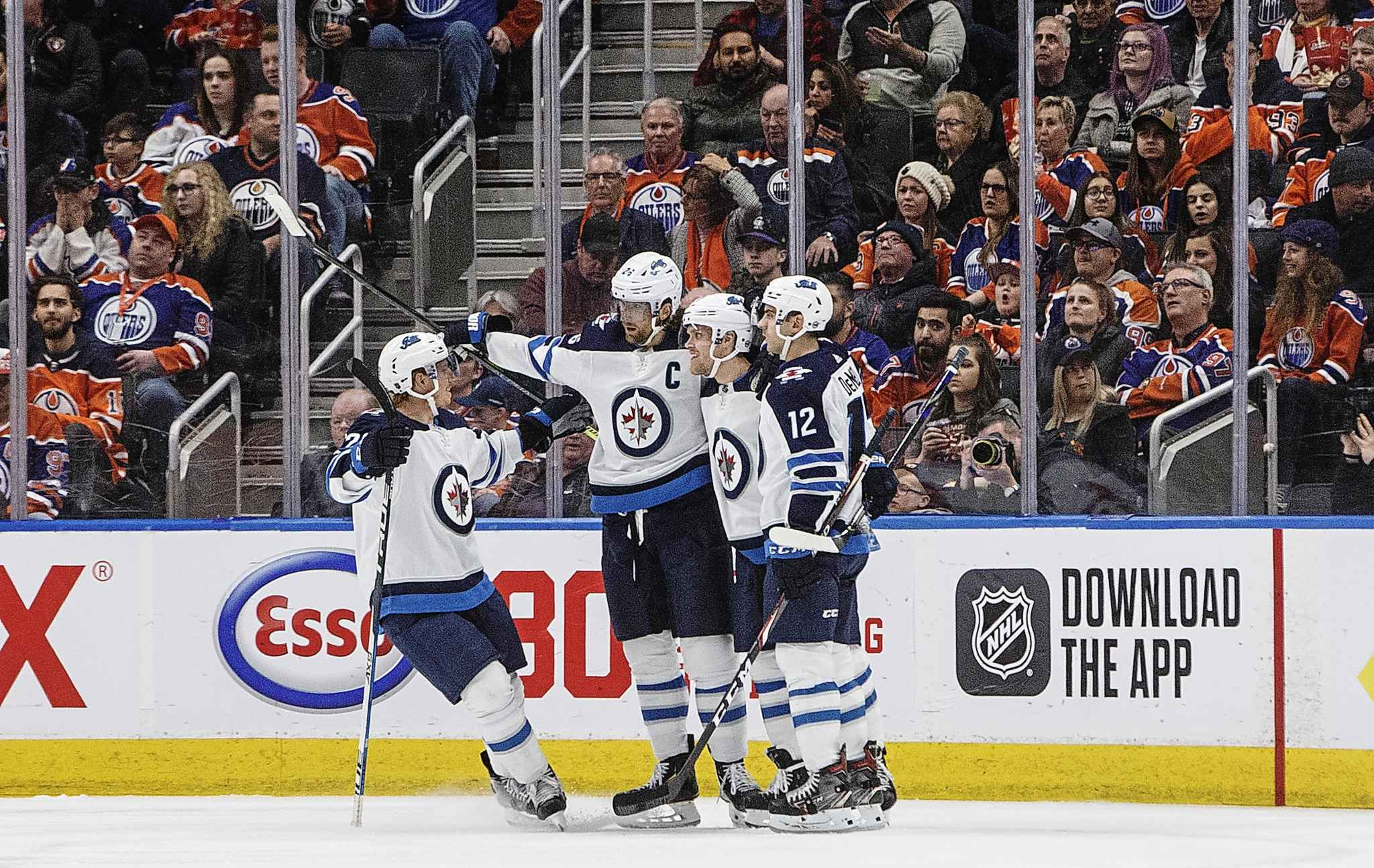 With the Jets decisive win over the Edmonton Oilers on Wednesday their fourth straight victory, the team was trending in the right direction as it headed into the home stretch of the season.