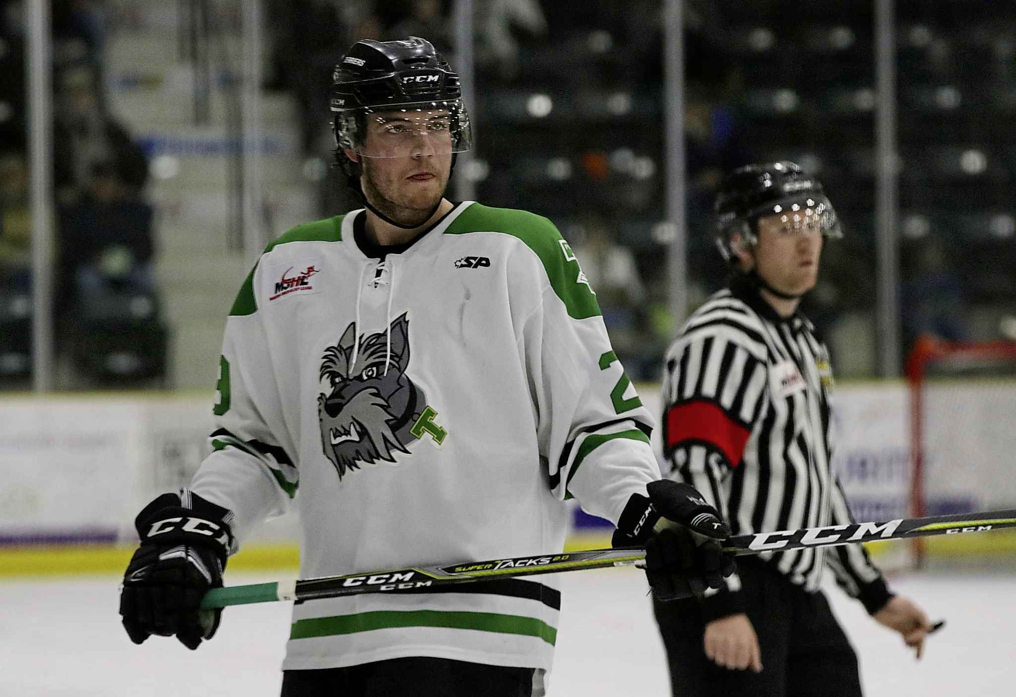 Cody Thompson and the Portage Terriers finished the regular season in first place and beat Wayway and Virden on the way to the finals.