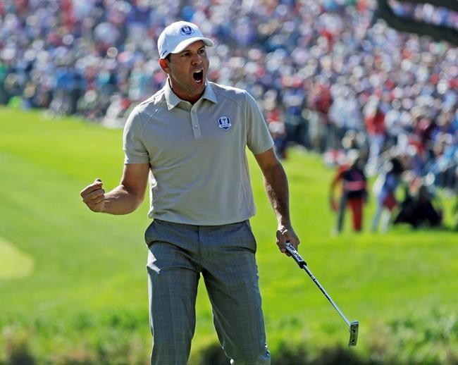 Spanish fightback trims US Ryder Cup lead to 6 1/2
