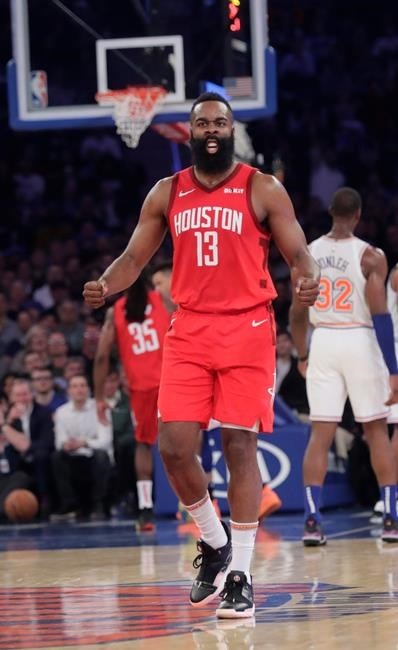 Harden ties Kobe's MSG opponent mark, scores career-best 61