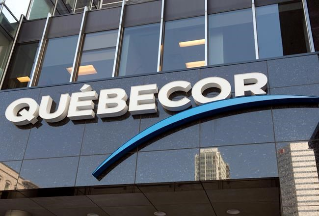Quebecor headquarters is seen in Montreal on October 6, 2014. THE CANADIAN PRESS/Ryan Remiorz