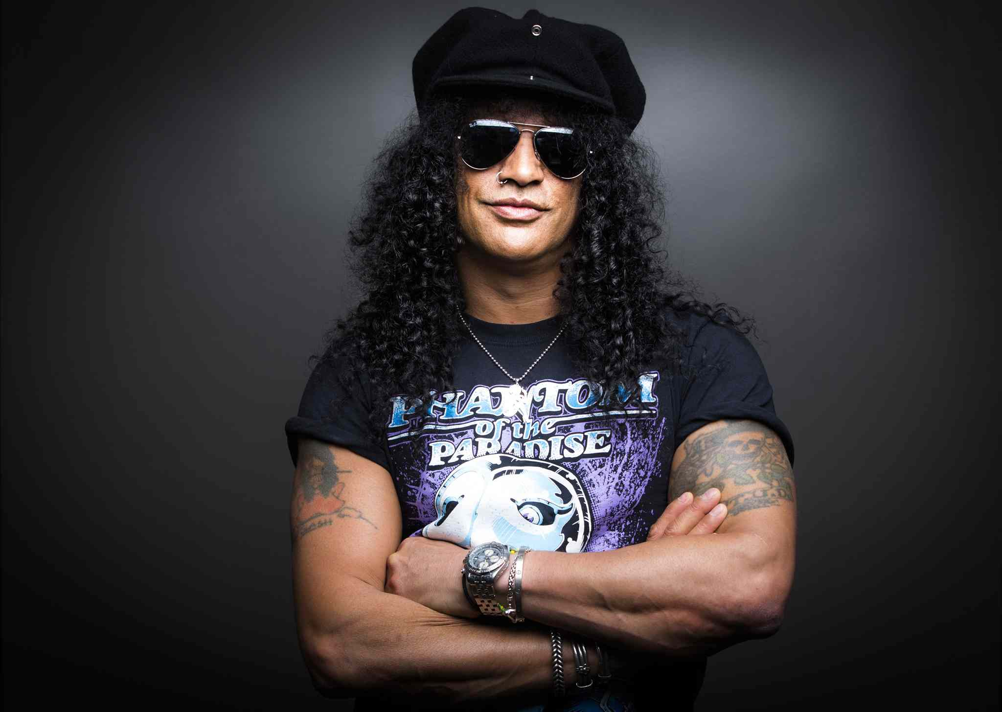 Guitarist Slash produced supernatural thriller Nothing Left to Fear.