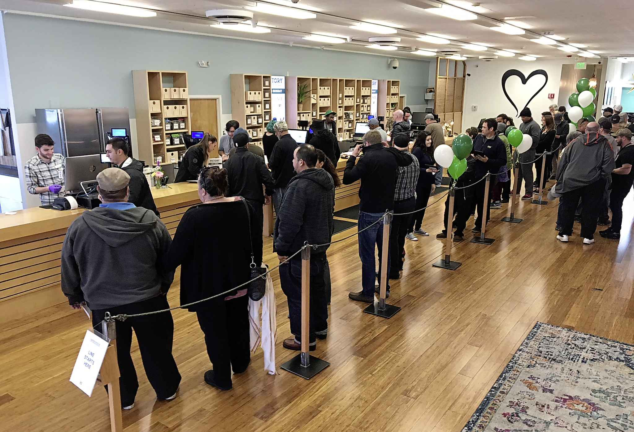 People under the age of 19 won't be allowed to enter or work at cannabis stores and customers have to wait until they are outside to open any product. (Terry Chea / The Associated Press files)