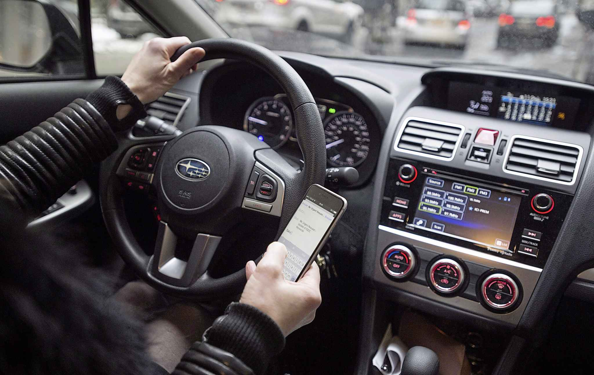 First-time offenders will be fined $672 and receive an immediate three-day licence suspension and a penalty of five demerits on their driver's licence, followed by a $50 licence-reinstatement fee. (Paul Chiasson / The Canadian Press)