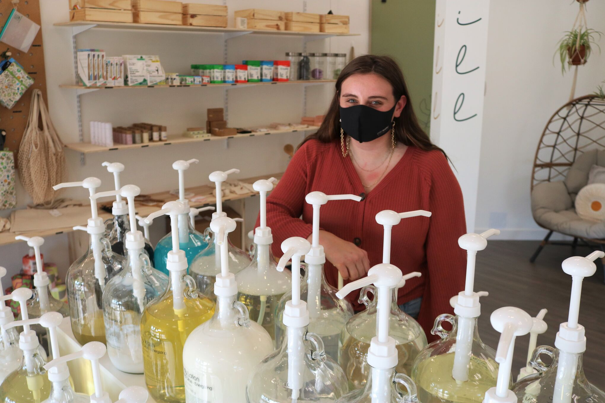 Julia MacCharles is the operator of Milieu Market, a new shop that focuses on zero-waste, eco-friendly products.