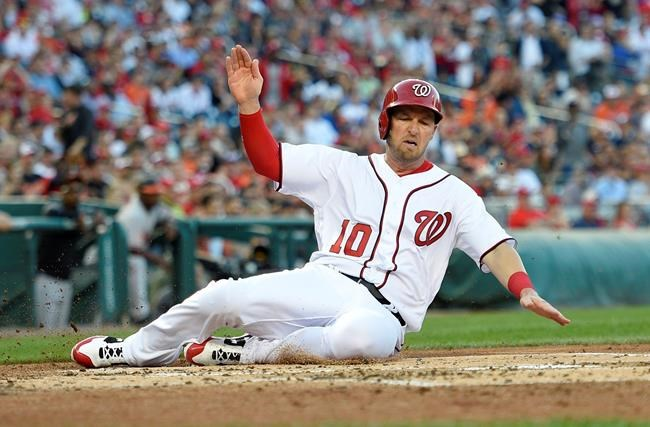 Ross fans 12, Drew homers as Nationals beat Orioles 6-1