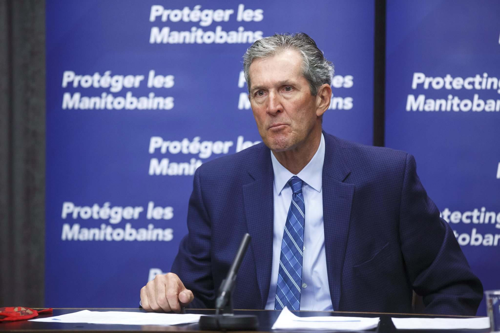 Brian Pallister's government gambled that immunizing enough people over the age of 70 would dampen hospitalizations, even as new variants spread.
