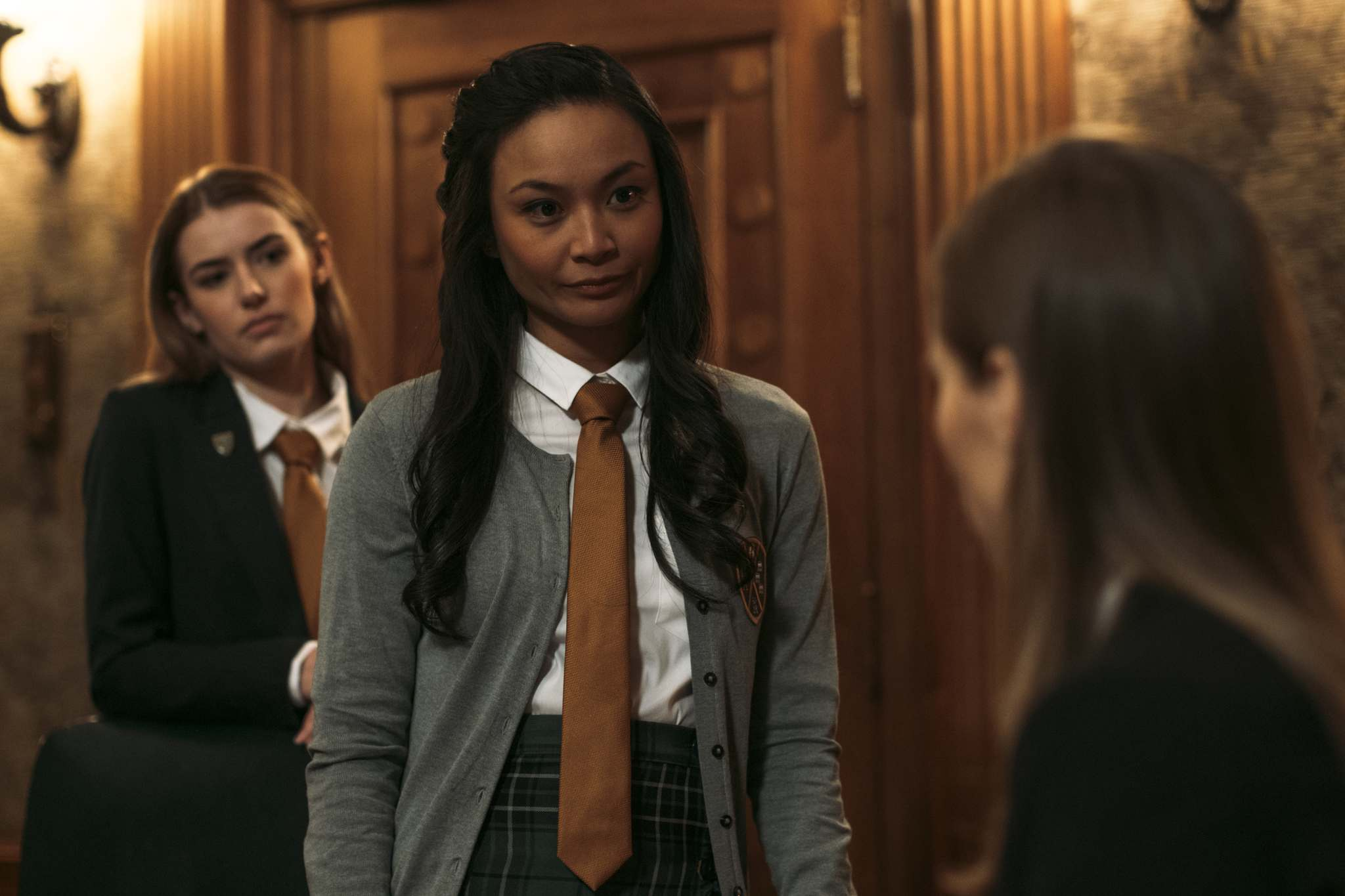 RLJE Films / Shudder</p><p>Winnipeg actors Jade Michael, left, and Stephanie Sy play mean-girl minions in Seance.</p></p>