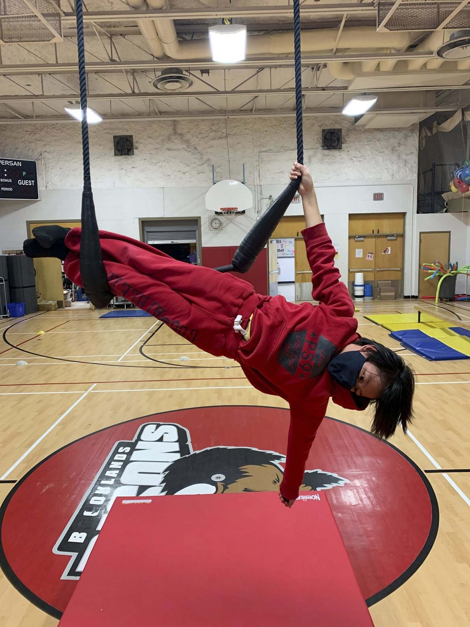 Students at schools that started incorporating certified circus instruction into phys-ed show higher competency in overall movement skills along with improved creativity, resiliency, and self-esteem levels. (Supplied)