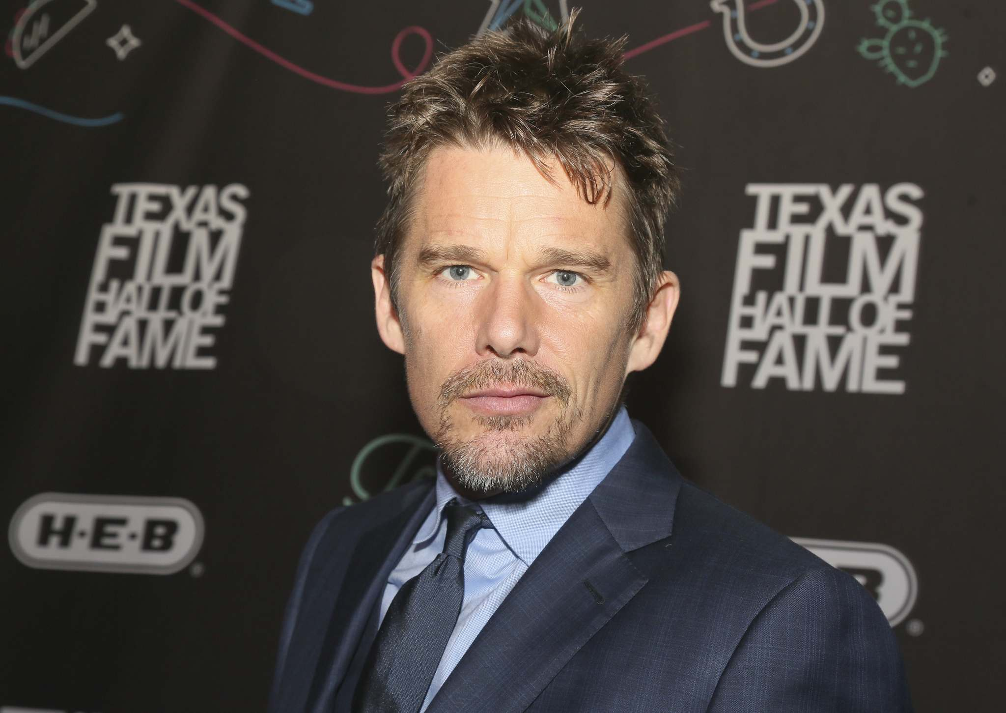 Jack Plunkett / The Associated Press files</p><p>A failed Hollywood script resulted in actor Ethan Hawke penning this graphic novel.</p>