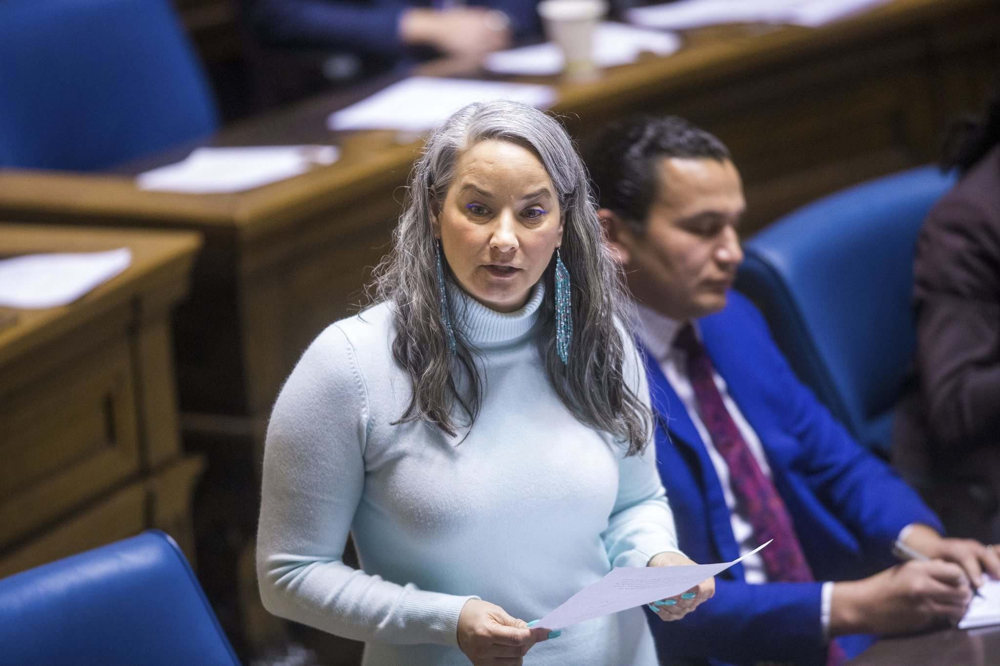 The in-custody death reports are years out of date, says NDP MLA Nahanni Fontaine. (Mikaela MacKenzie / Winnipeg Free Press files)
