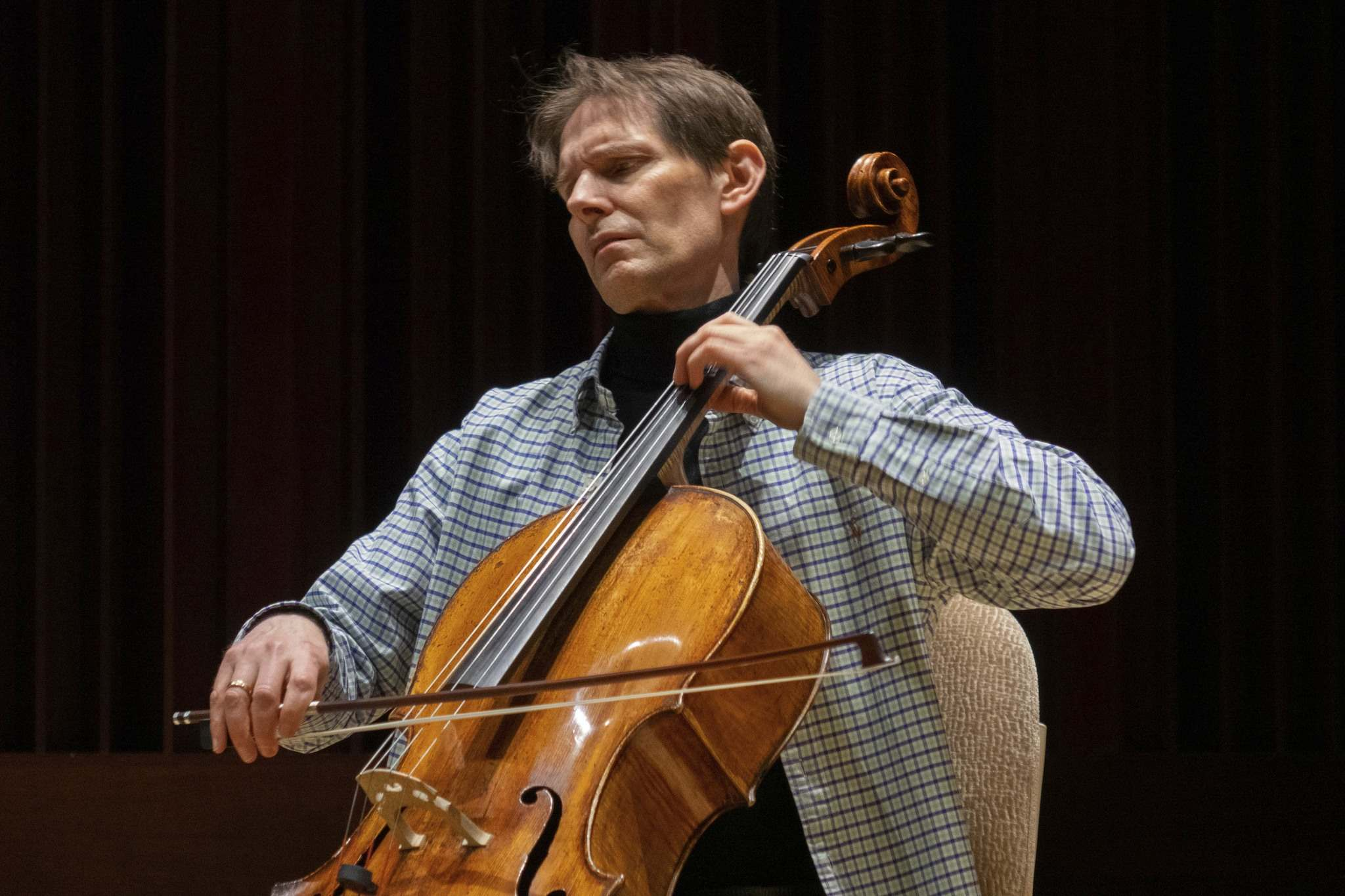 MARK RASH PHOTO</p><p>Cellist Paul Marleyn is the founding artistic director of the Agassiz Chamber Music Festival, now in its 22nd year.</p>
