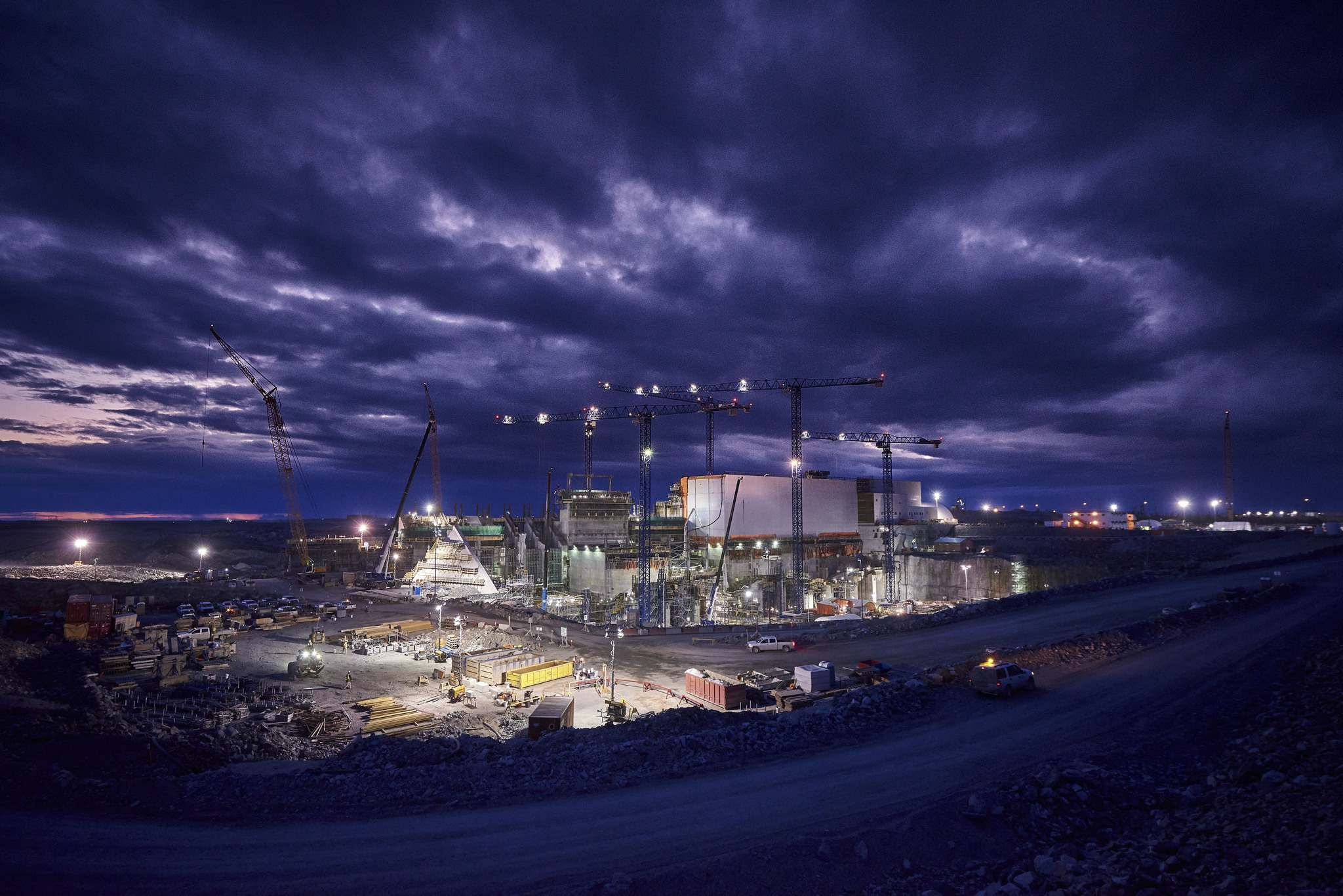 MANITOBA HYDRO</p><p>Construction of the Keeyask Generating Station in 2018. </p></p>