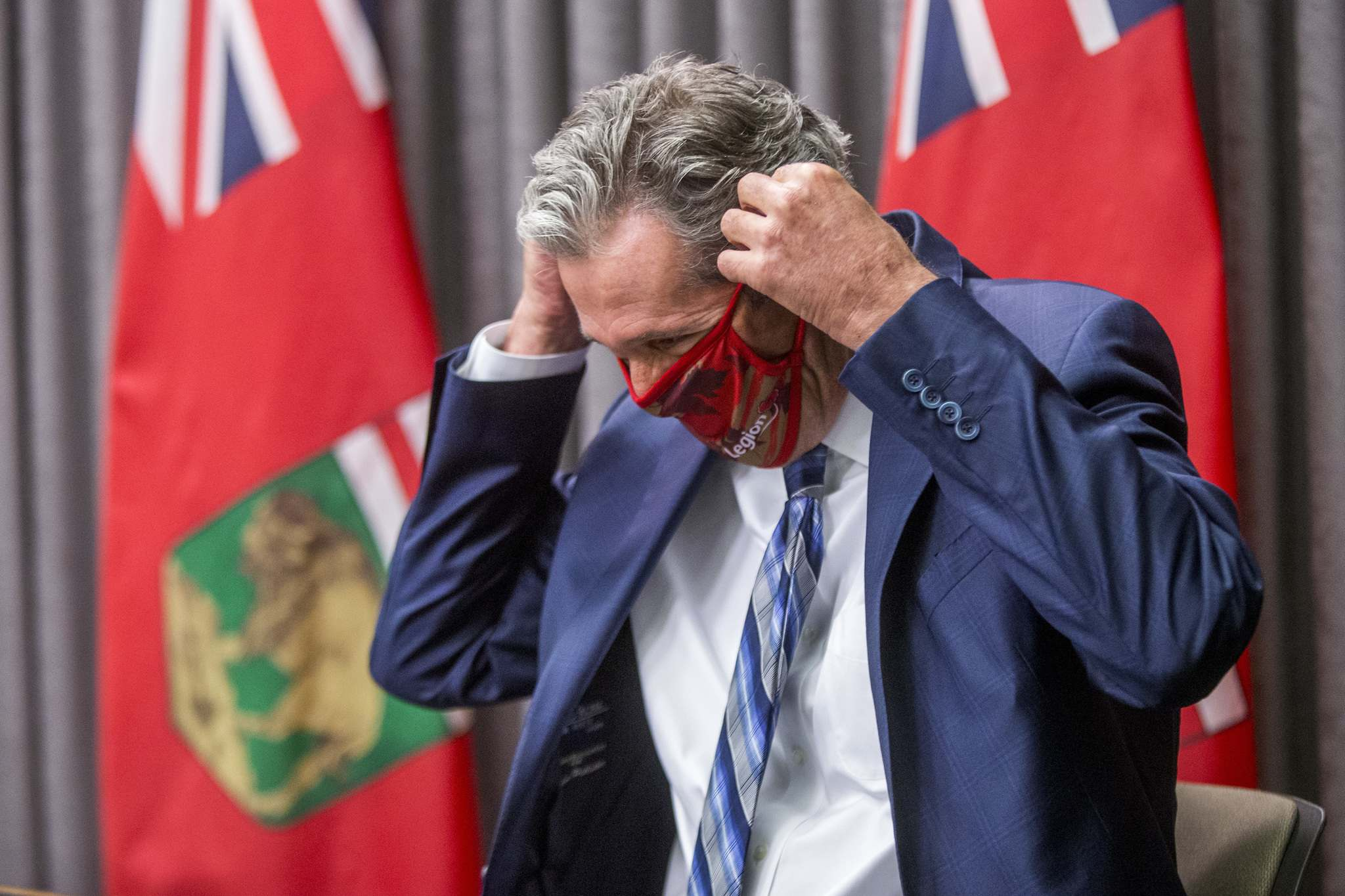 MIKAELA MACKENZIE / WINNIPEG FREE PRESS FILES</p><p>Premier Brian Pallister promised to outline his government's strategy to rebound from the third wave of COVID-19, at a news conference Thursday where he announced a grant program to increase vaccination rates.</p></p>