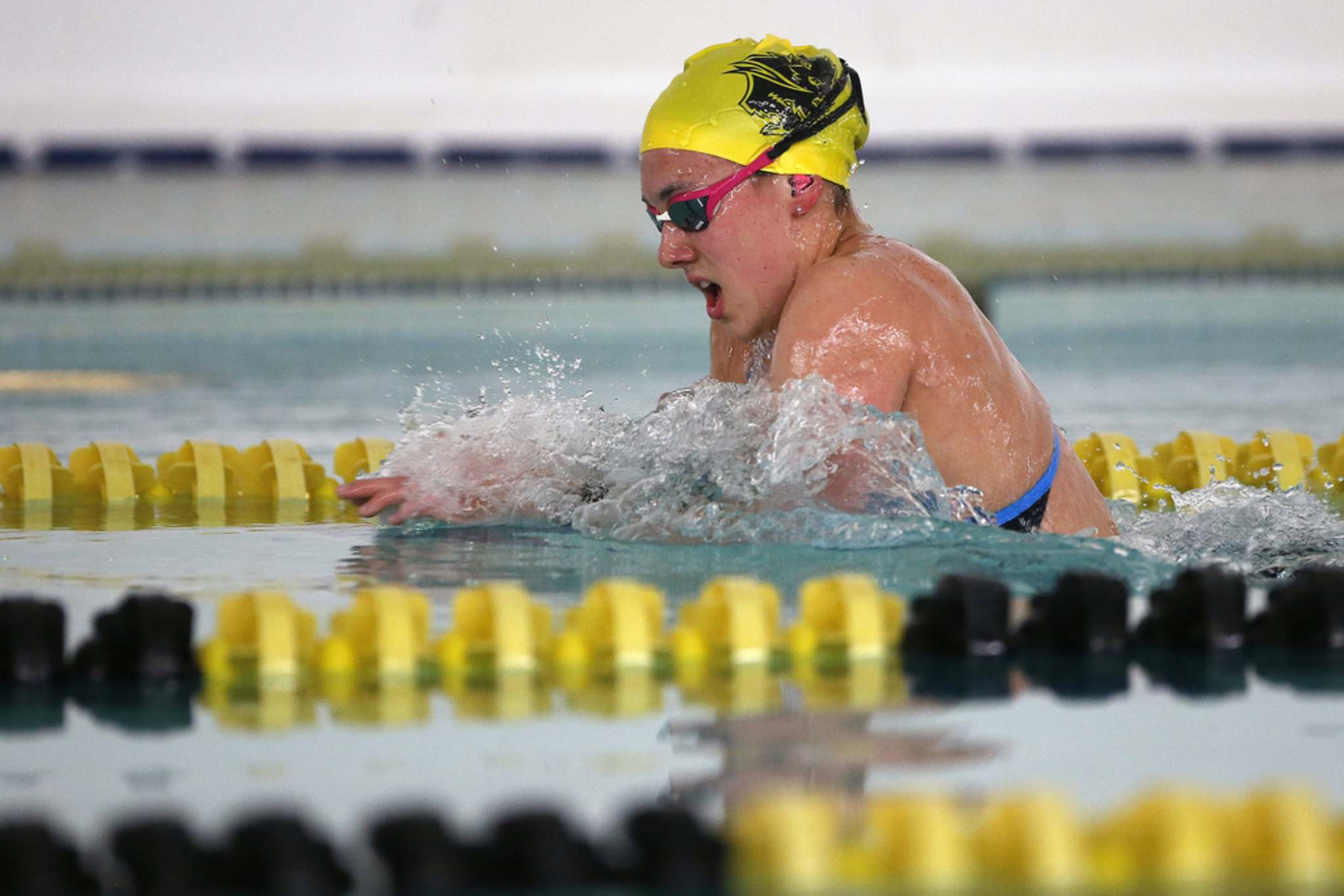 Kelsey Wog got her start racing in the pool as an eight-year-old.