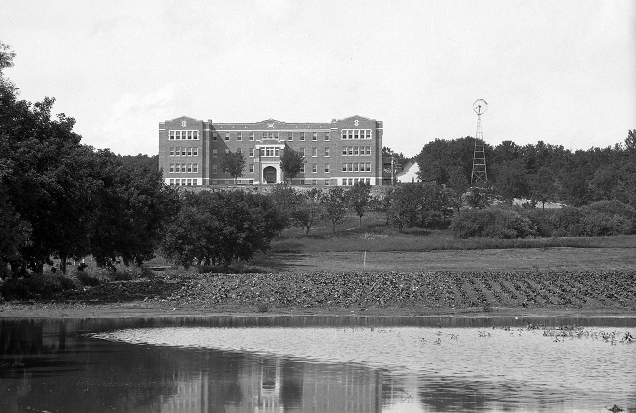 S.J. MCKEE ARCHIVES</p><p>The Brandon school was demolished in 2000.</p></p>