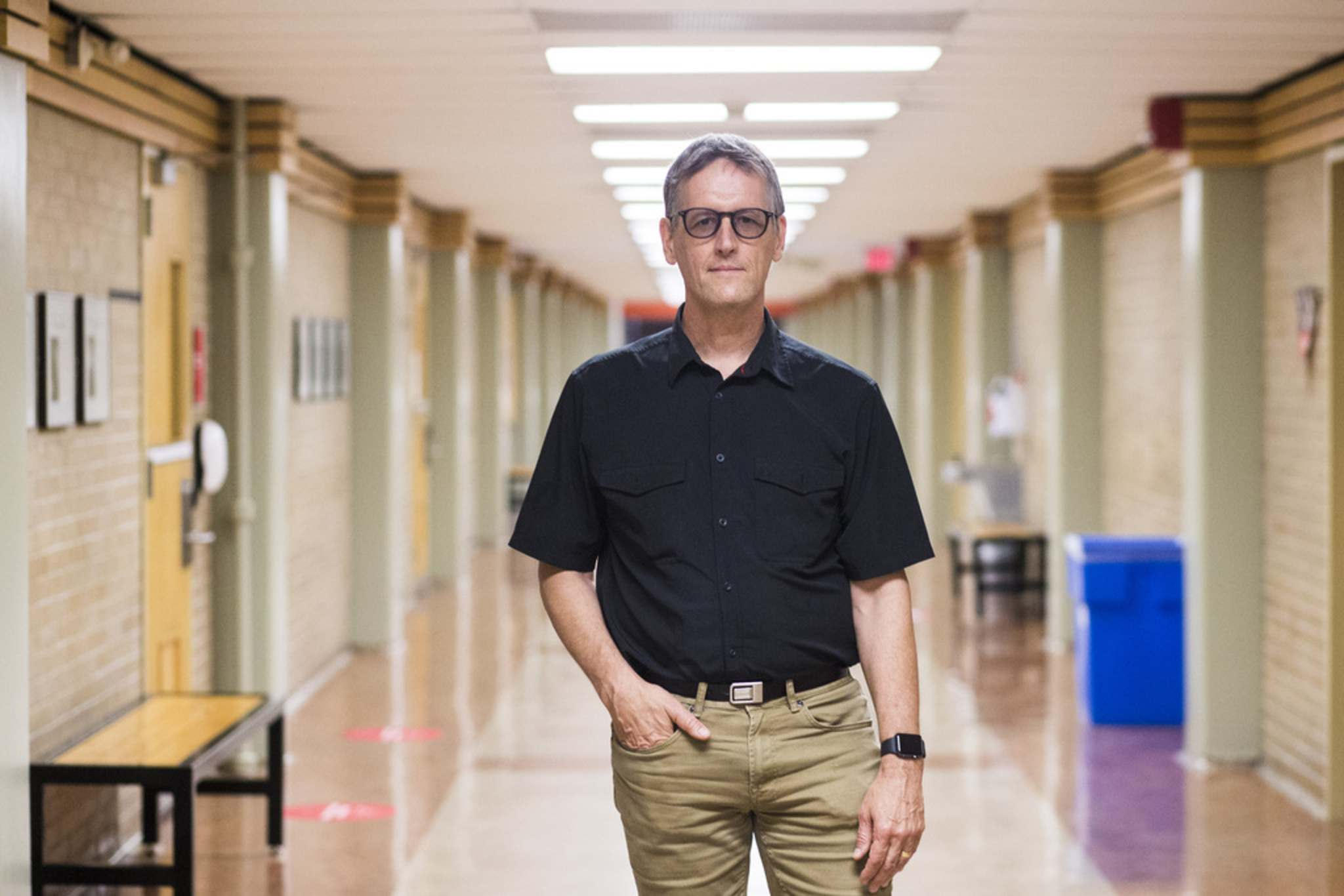 """James Currie, interim president of the University of Winnipeg: """"There's obviously uncertainty, but we are hoping that we will be face to face."""""""