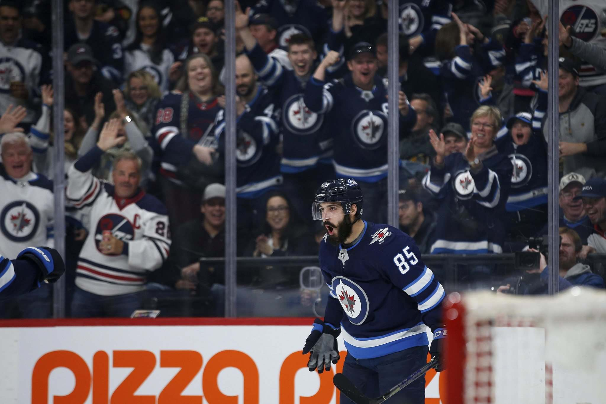 Popular forward Mathieu Perreault may very well have played his last game for the Winnipeg Jets. (John Woods / The Canadian Press files)