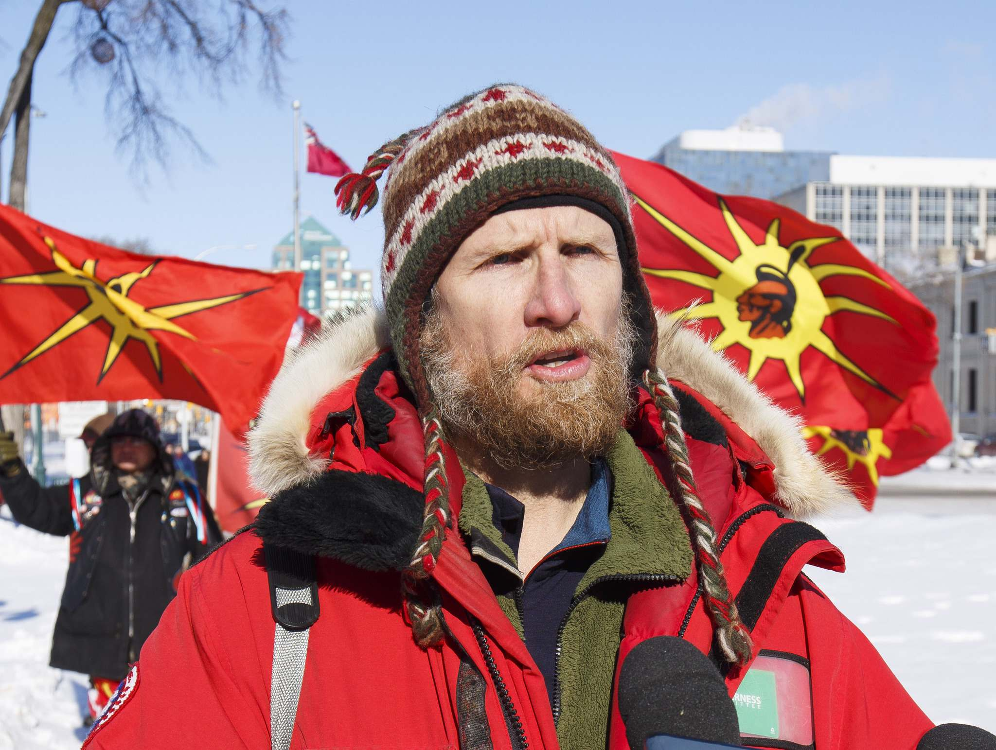 Eric Reder of the Manitoba chapter of the Wilderness Committee.