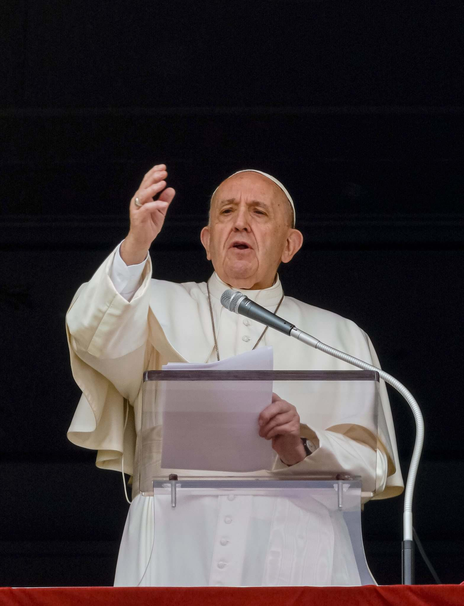 There has been no apology from Pope Francis. (Domenico Stinellis / The Associated Press files)