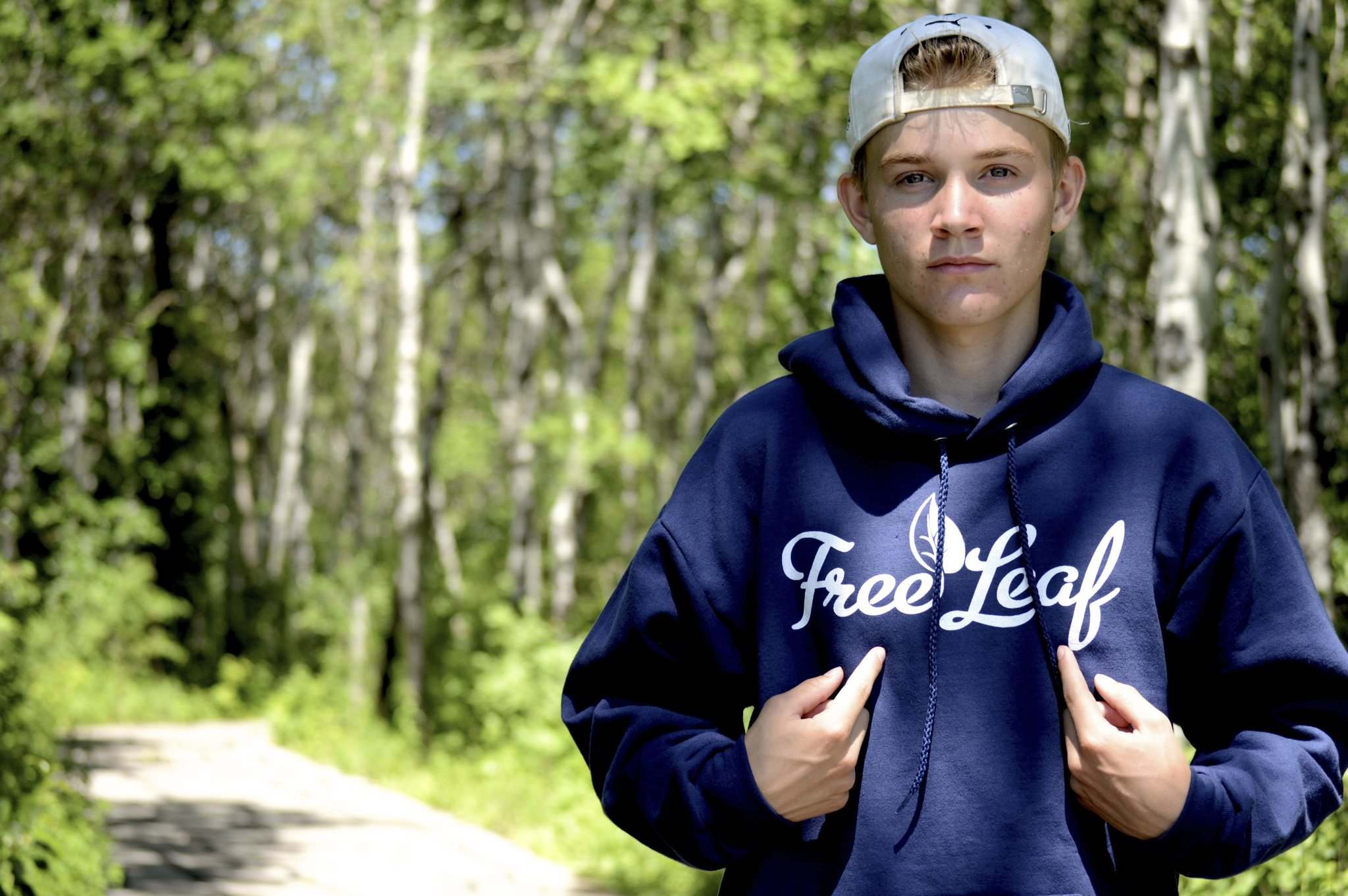 Ian Willison co-founded Free Leaf after a classroom discussion about losses of the rainforest.</p>