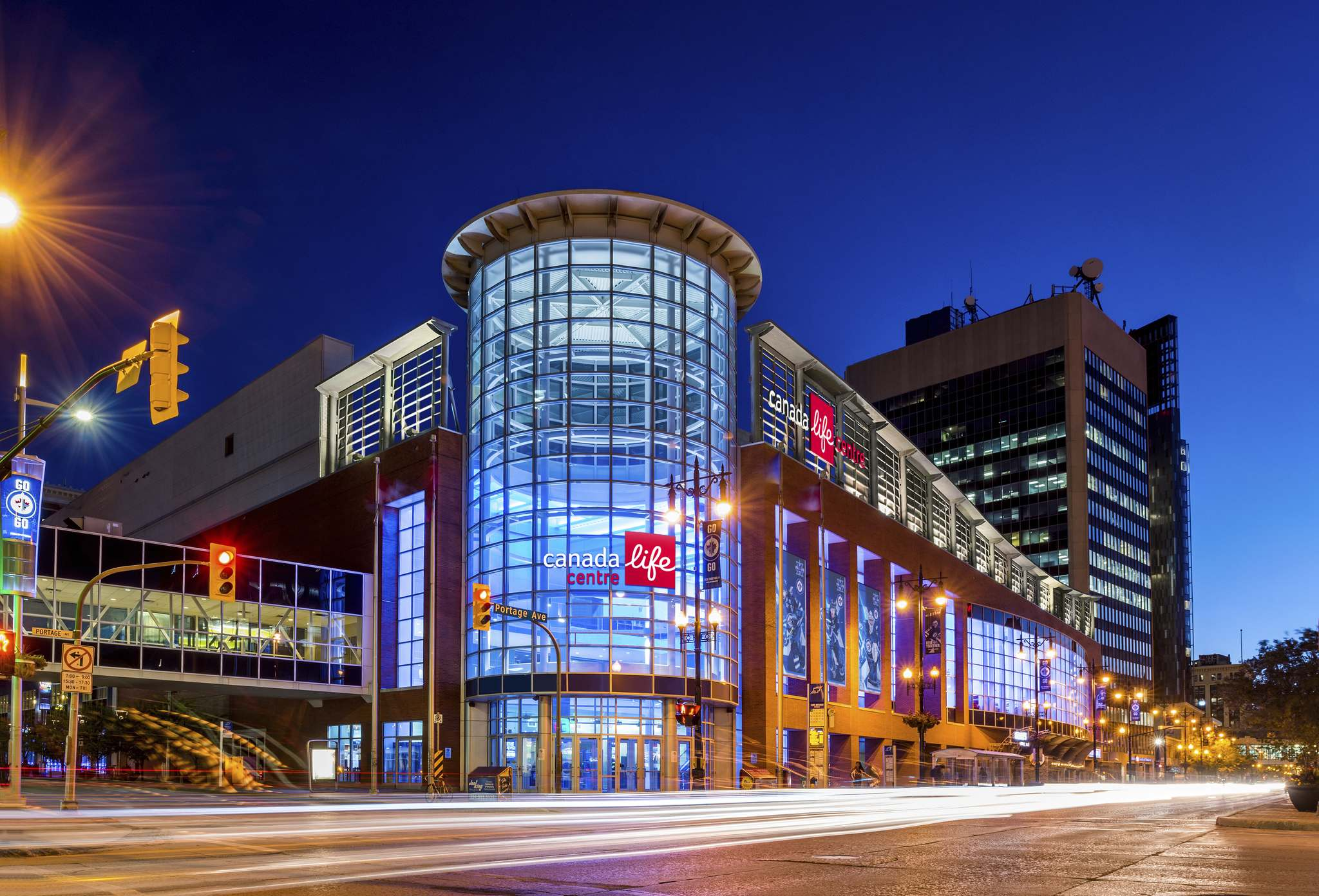 SUPPLIED</p><p>A rendering of how the home of the Winnipeg Jets will look when it becomes Canada Life Centre in July as part of a 10-year sponsorship.</p>